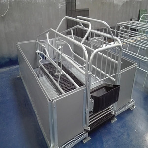 Hot galvanized pig farrowing pens used pig farrowing crates