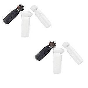 58khz eas mini pencil security tag eas am hard tag clothing anti-theft alarm little hammer tag Black and White 1000PCS home safty
