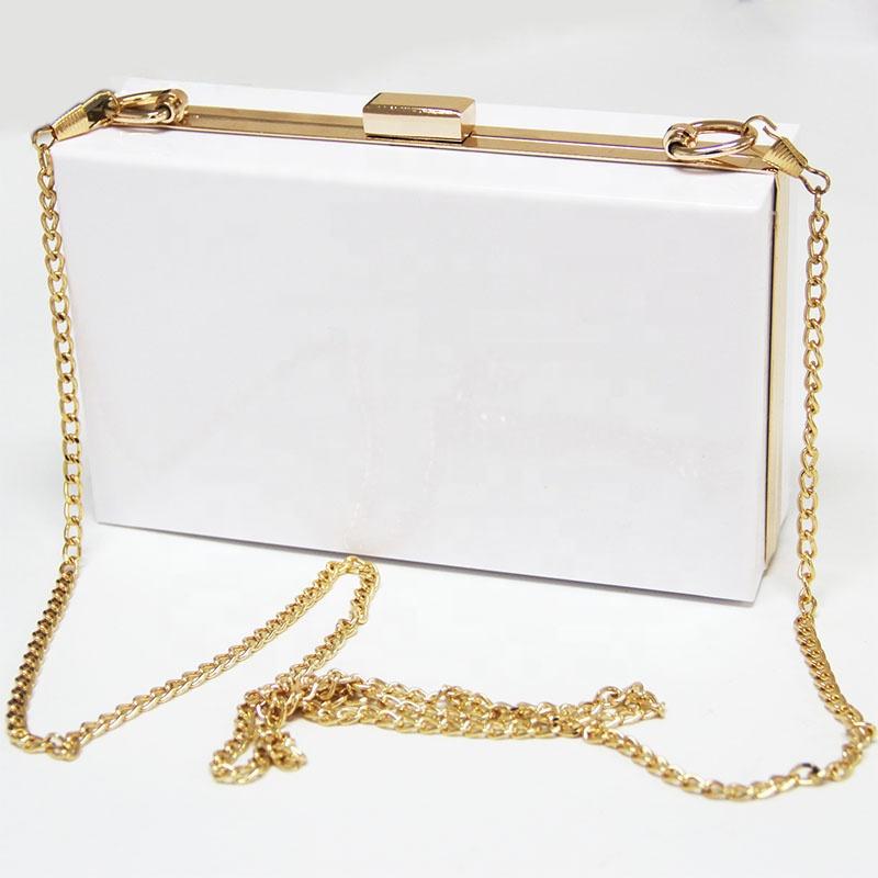 Women Bags Clutch Evening Bag Acrylic Shoulder Bag Handbags Transparent Wallet
