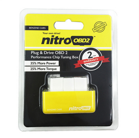 Gold supplier top selling product nitroOBD2 Performance ECU Chip Tuning Box nitro OBD2 for Benzine Cars More Power/More Torque