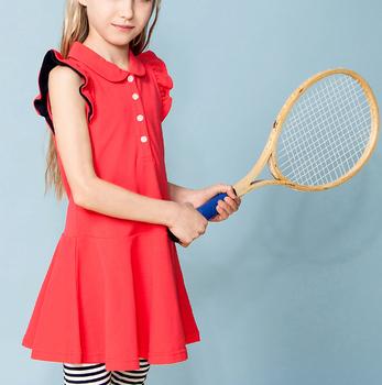 a7bcb9491d4b42 New model designer kid summer plain dress cute red black fashion girl child  dress kids clothing