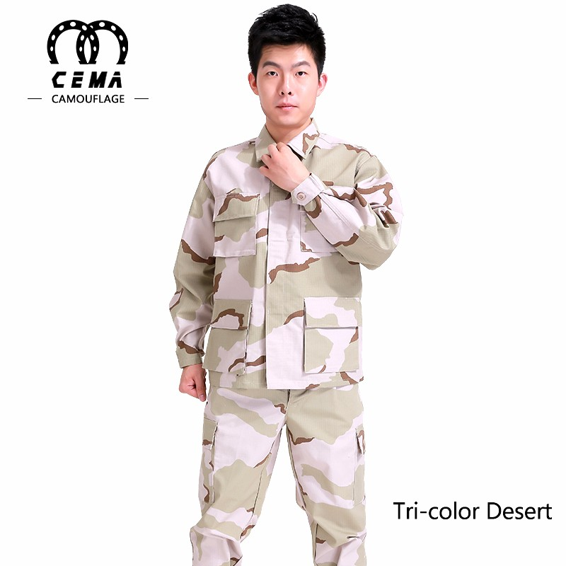 China factory hot sale BDU camouflage army military equipment