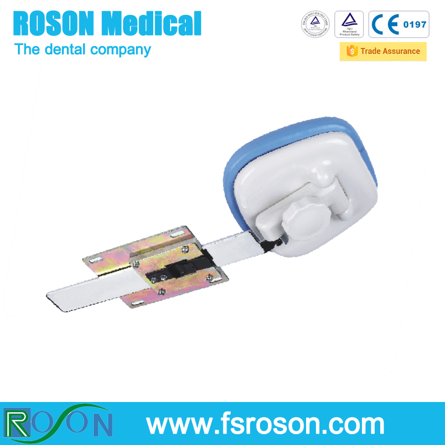 Roson Hot sale Foshan China manufacturer used dental chair spare parts dental chair equipment headrest frame RV102
