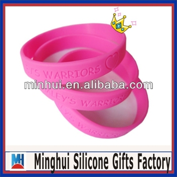 Thick Silicone Wristbands 13