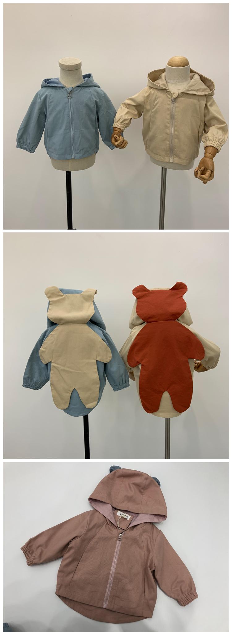 Новая весенняя одежда для детей в Корейском стиле милые детские пальто весеннее пальто для мальчиков и девочек