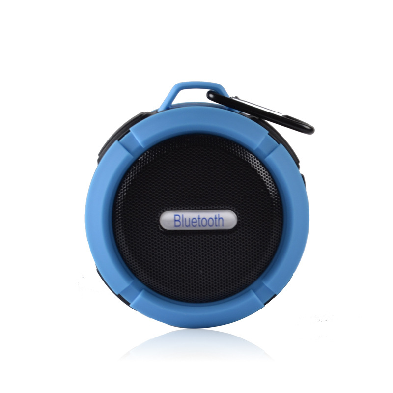 2018 promotional outdoor IPX6 waterproof speark wireless C6 bluetooth <strong>speaker</strong> with TF card Call sport dustproof minispeaker