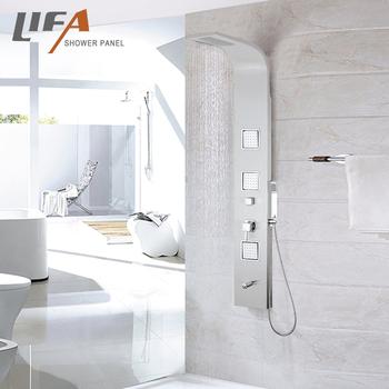 Wall Shower Panel,304 Inox Shine Luxurious Cf8009 - Buy 304 ...