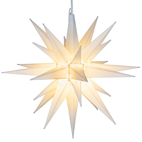 Star Of Bethlehem Outdoor Light Cheap moravian star pendant light find moravian star pendant light elf logic 21 large white moravian star bright hanging outdoor christmas light workwithnaturefo