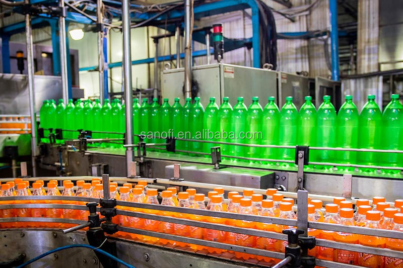 shani soft drink production line