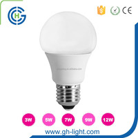 china Long lifespan white indoor lighting 3w led bulb price