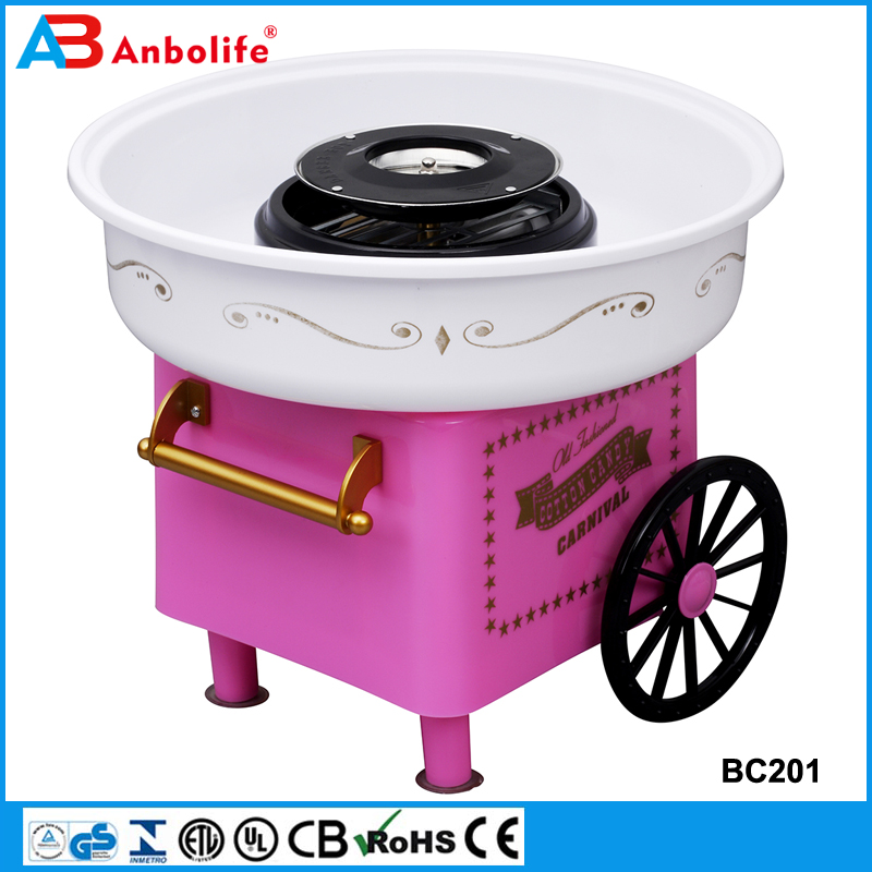 professional electric home use floss flower cotton candy maker