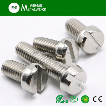 M2 M3 Stainless Steel Slotted Cheese Head Machine Screw Din 84 - Buy Din  84,Slotted Cheese Head Screw Din 84,Stainless Steel Din 84 Product on