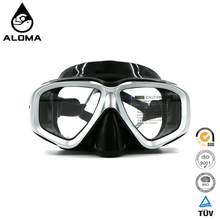 Professional silicone watersports diving swimming goggles