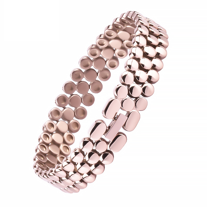 Adjustable Titanium Charm Jewelry Nano Titanium Magnetic Bracelet