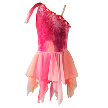 NT025 Lyrical Jurk Bloem <span class=keywords><strong>Lijfje</strong></span> Hoog Laag Splicing <span class=keywords><strong>Tutu</strong></span> Dancewear Prinses Dress up