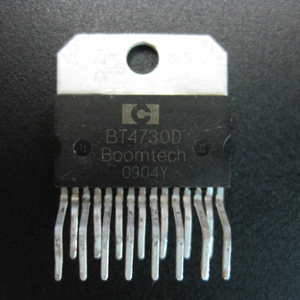 Car audio power amplifier ic BT4730D ZIP-15