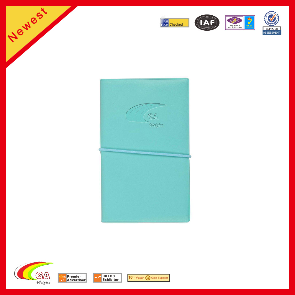 Promotional Blue Notepads Mini Notebook Pocketbook Holster diary book
