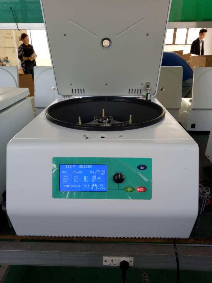 5000r/min 15mlX32 50mlX4 Bench-top Low Speed Laboratory Centrifuge L-500