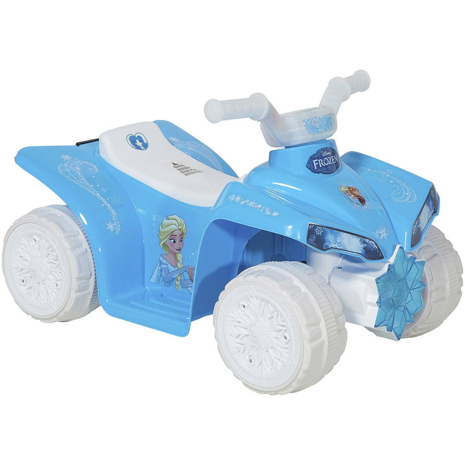 842e437d8f5a0 Get Quotations · Dynacraft Disney Frozen 6-Volt Battery Operated Little Ride  On Quad Toy Car for Kids