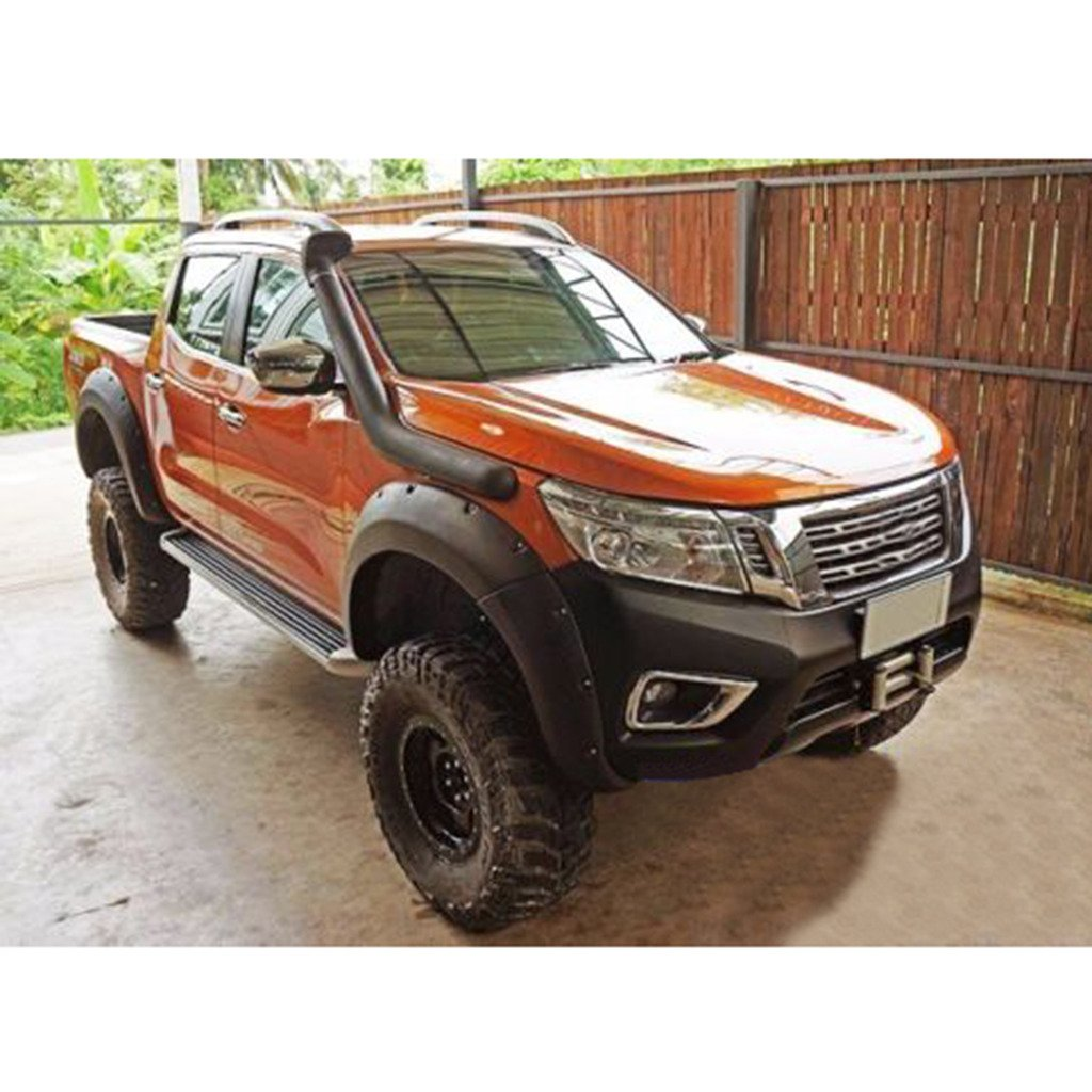 CHROME LINE WINDOW COVER FIT NISSAN FRONTIER NAVARA NP300 D23 2DR CAB 2015-ON