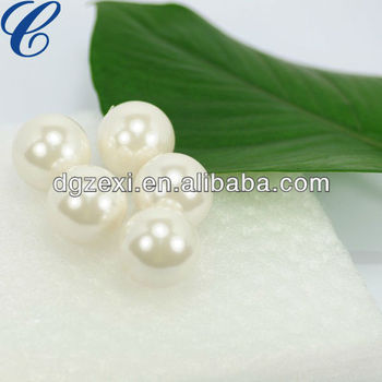 20mm Natural Faux Aaaa White Color Mabe Loose Pearls Bead