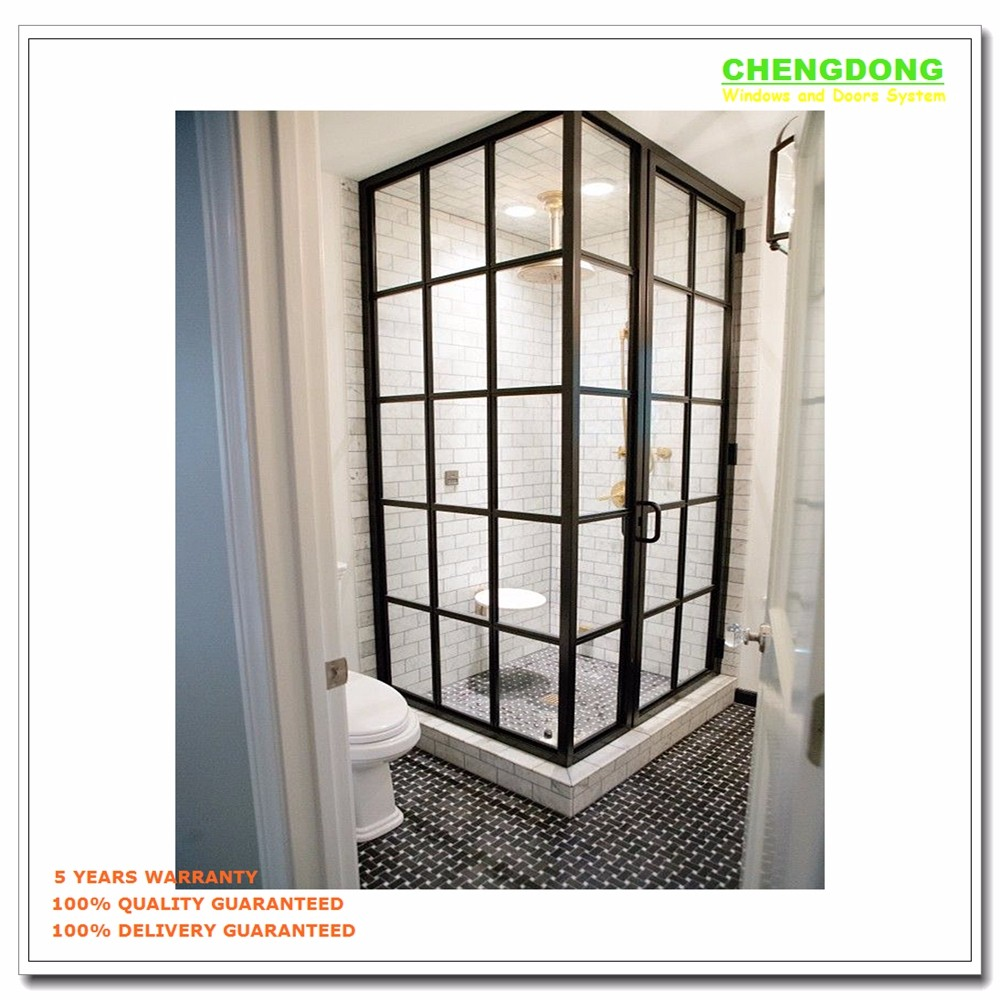 Aluminum half glass door design screen door panel sliding for Screen door for sliding glass door