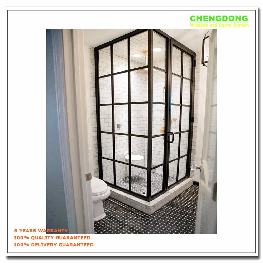 Aluminum Half Glass Door Design Screen Door Panel Sliding Door For Bathroom Buy Commercial