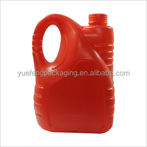 Easy operate plastic 5 L HDPE jerry can extruding/extrusion blowing machine