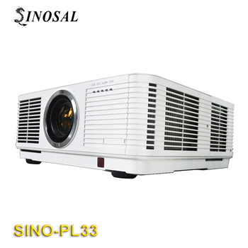 SINOSAL SINO-PL33 9000ANSI LUMENS 1280*800 resolution 3d hologram projection mapping lamp x2 projector