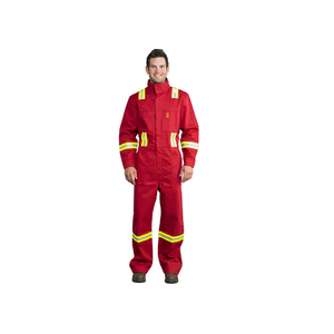 China Manufacturer Safety Flame Retardant Work overalls Uniform mens workwear
