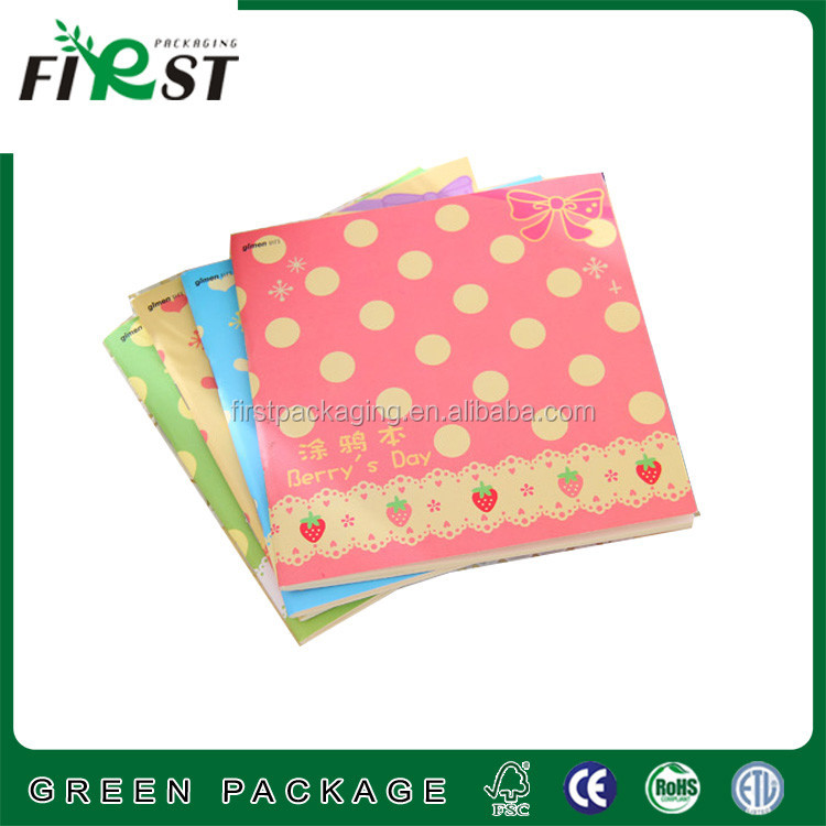 ECO-Friendly New Design Custom Recycle Paper Notebooks