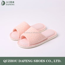 fashion winter indoor bedroom pu sole man slipper