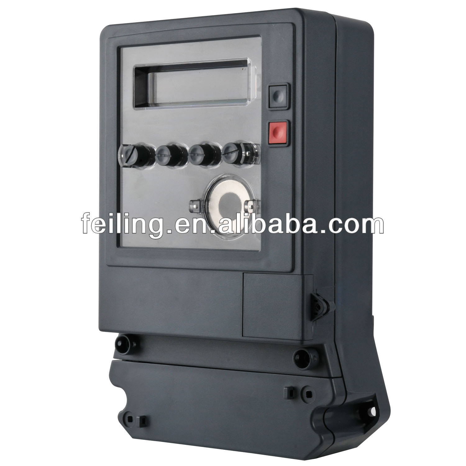 Environmental kwh electric energy three phase meter cases junction box