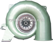 francis water turbine with competitive price from china factory