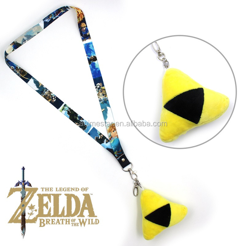 Anime Game Jewelry The Legend of Zelda Plush Pendant Necklace Accessories