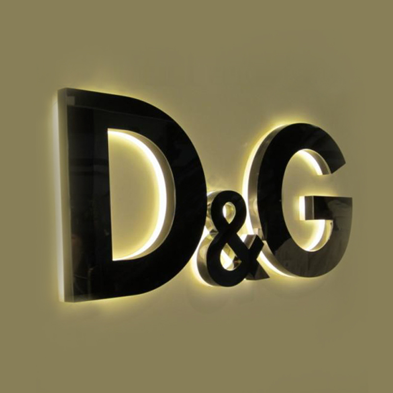 Wholesale Acrylic 3d Led Letter Can Custom Size Backlit Light Box Signs For  Advertising - Buy 3d Led Letter,Backlit Light Box Led Letter,Wholesale