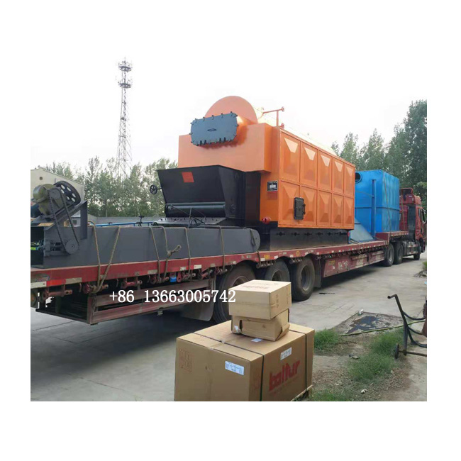 second hand 1ton natural gas diesel oil fired Industrial steam boiler