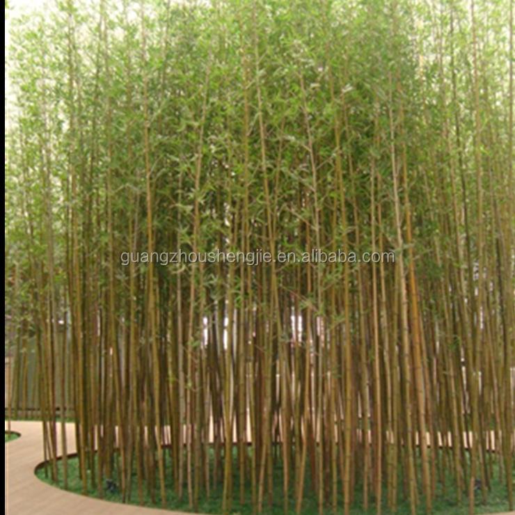 bamb artificial para jardn interior al aire libre decoracin de la pared de plstico plantas de