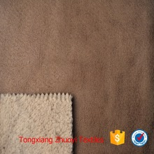 금 supplier micro knit suede 와 fleece fabric