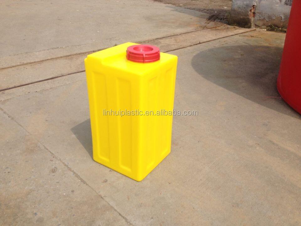 ניס אחסון מים מתוקים מיכלי מים 80 ליטר עם ברז ניקוז פלסטיק אנכי-טיפול EV-66
