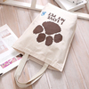 wholesales promotional cotton gift shopping bag with logo