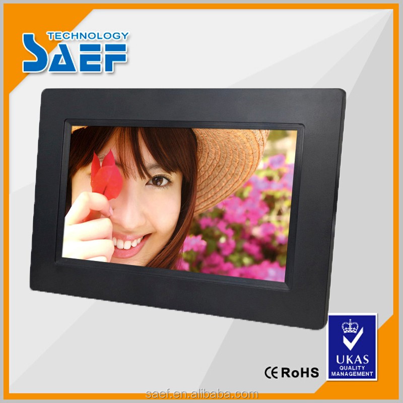 hot video player of 7 inch digital photo frame
