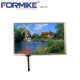 "10.1"" LVDS 1024x600 touch lcd screen with resistive touch"