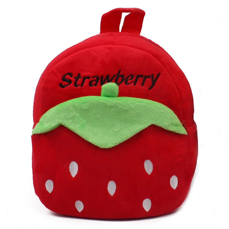 Get Quotations · Winsterch Kid s 3D Plush Backpack School Shoulder Bags  Walking Toddler Backpack Cartoon Backpack 24834023bc