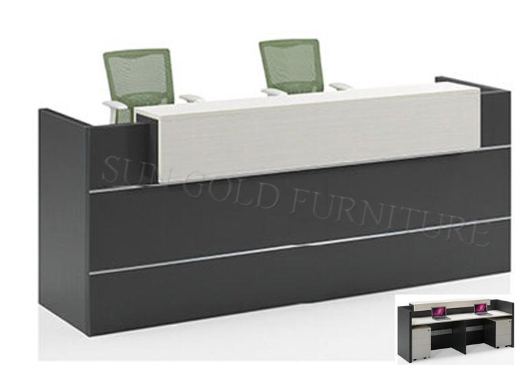 wooden reception counter design reception desk for beauty