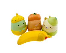 Wholesale PU Foam Squishy Fruit Toys Kawaii Promotional Slow Rising Cute Colorful Cartoon Squishy Decoration Toy Gifts