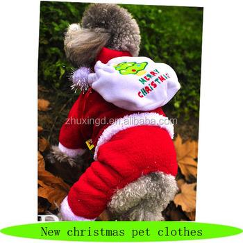 Christmas Pet Costumes.2016 New Design Christmas Pet Costume Dog Christmas Apparel With Gift Bag Buy Christmas Pet Costume Dog Christmas Apparel Cute Christmas Costumes