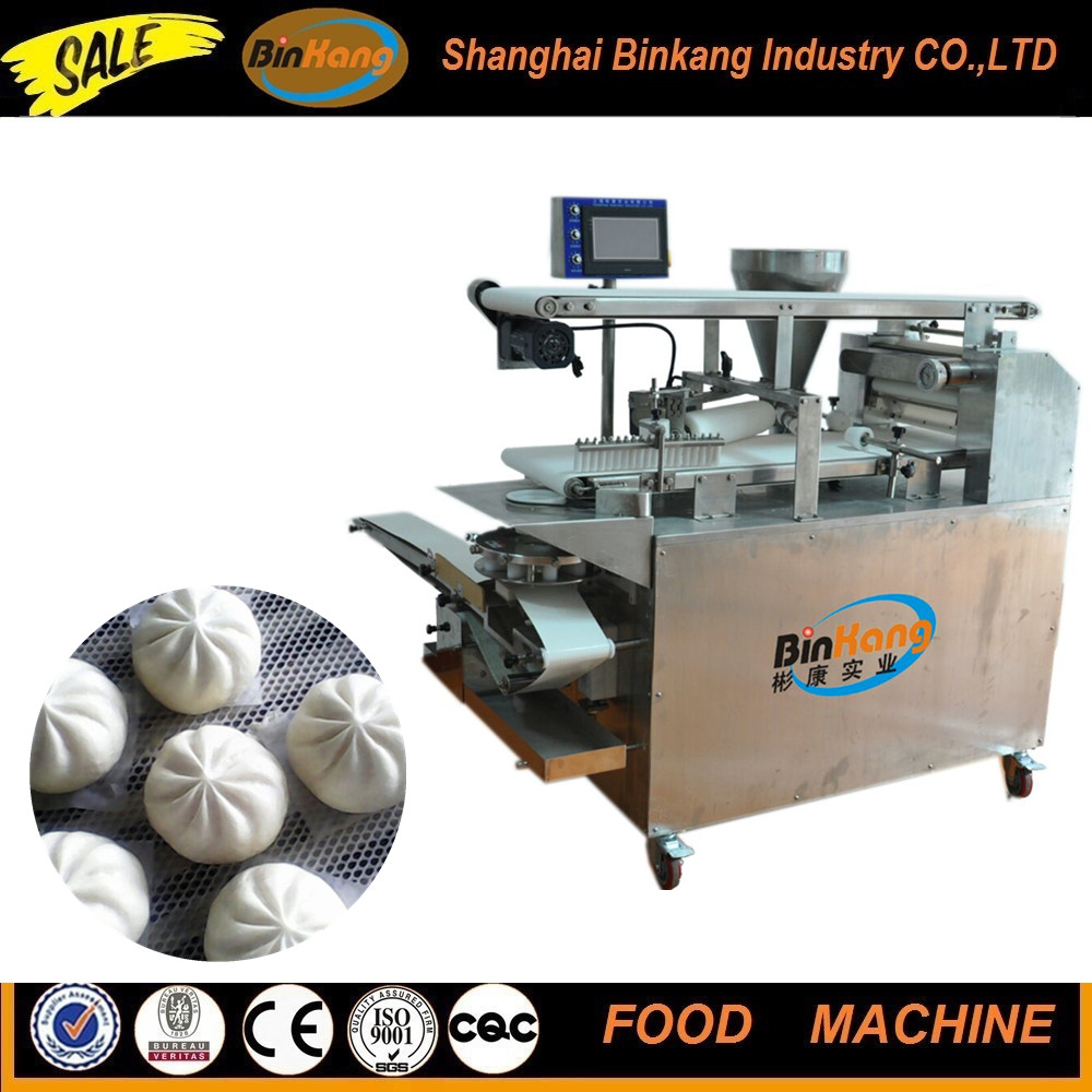 Red bean paste bun making machine