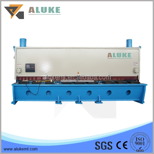 OEM guillotine shearing machine, 20x6000 heavy duty shearing machine, CNC cutting machine