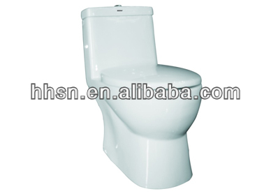 decorated ceramic toilet siphon sanitary ware toilet HH-6T181